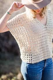 Easy Crochet Top Patterns For Beginners