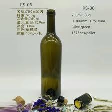 750ml glass olive oil bottles whole