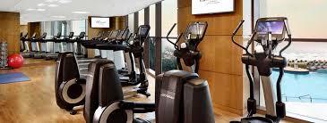 gym at fairmont ajman