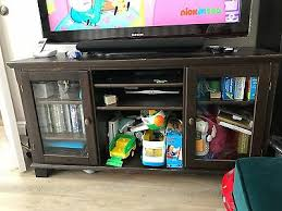 ikea tv unit with glass doors