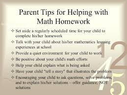 river eves math workshop goals  to strengthen the mathematical  3 parent tips for helping