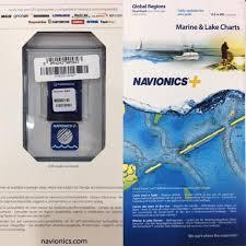 Navionics Marine Chart Card For Lowrance Raymarine Furuno Simrad