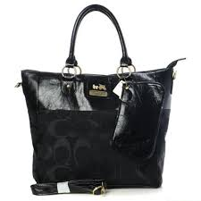 Coach In Signature Medium Camel Totes AOW