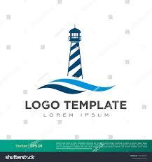 Light Beam Logo Light Beam Lighthouse Icon Vector Logo Stock Vector Royalty