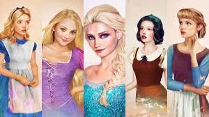 Các công chúa từ truyện cổ tích bước ra đời thật trông sẽ như thế nào?