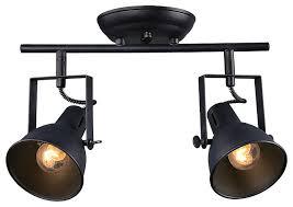 track lighting styles transitional. plain lighting 2light retrostyle spotlight ceiling lamp transitionalspotlights intended track lighting styles transitional e
