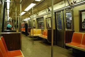 inside subway train. Delighful Inside Inside A NYC Subway Train Intended Subway Train O