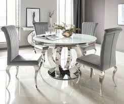round glass dining table. Fine Round Round Glass Dining Table And Chairs Great Serge Living Riviera White   And Round Glass Dining Table