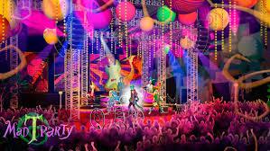 Rave Theme Party Sasaki Time Mad T Party At Disney California Adventure