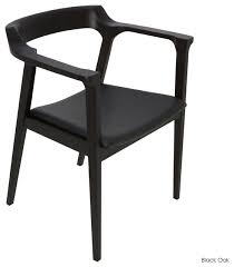 black dining chairs with arms