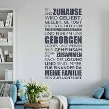 Wandsprüche Lebensweisheiten Wandtattoos Wall Art Dekoshop Wall