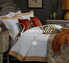 woods vincentia luxury bed linen collection