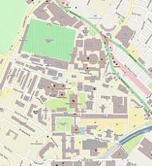 simmons college campus map. street map of the main campus. simmons college campus