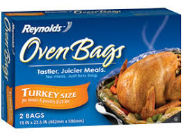 Reynolds Turkey Bag Cooking Chart Turkey In A Bag Recipe How Long To Cook Turkey