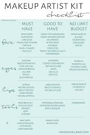 professional makeup kit essential here is a makeup artist kit check list for beginners