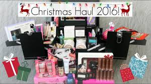 huge what i got for christmas haul 2016 makeup clothes iphone more beautyee you