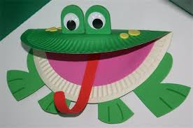 55 Paper Plate Frog Template Frog Puppet Asuntospublicos Org