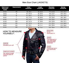 Milwaukee Vest Size Chart Motorcycle Jackets And Why You Need One Getmotojacket Com