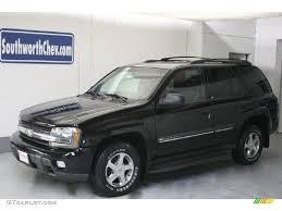 2002 Onyx Black Chevrolet TrailBlazer LS 4x4 #27071335 Photo #8 ...