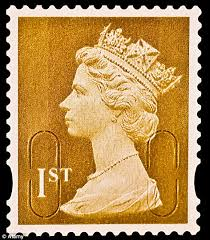 putting one s foot down the queen insisted that her head should appear on all stamps