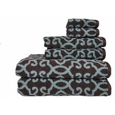 better homes and gardens towels. Plain Homes Better Homes And Gardens Jacquard 6Piece Towel Set AquiferCosta Brown On And Towels