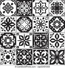 Vector Patterns Custom Modern Interior Spanish And Turkish Tiles Kitchen Floral Vector