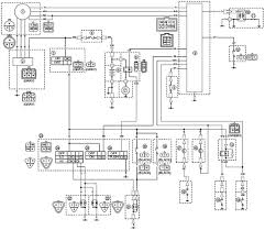 wiring diagrams for atv wiring diagram schematics yamaha yfm350xp warrior atv wiring diagram and color code
