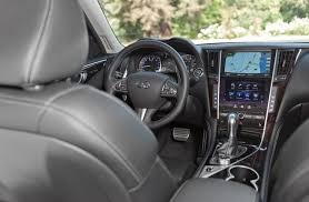 2015 infiniti q50 interior. the dual touch screens are an excellent idea but in execution they difficult 2015 infiniti q50 interior