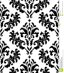 Damask Pattern Free Seamless Damask Pattern Stock Vector Illustration Of Plant 10401699