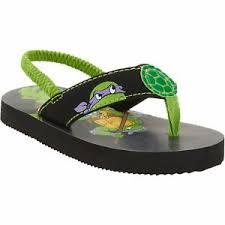 Flip Flop Shoe Size Chart Details About Teenage Muntant Ninja Turtle Flip Flop Sandals Boys Shoes Size Small 5 6