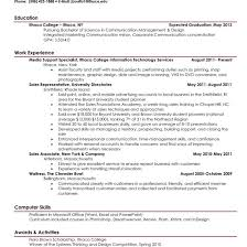 Example Good Resume Good Resume Examples Sample 24 Larger Image Things To Within Of A 8