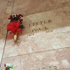 """Iva Lee """"Granny"""" Treadaway Little (1919-2018) - Find A Grave Memorial"""