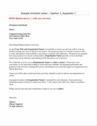 Business Invitation Letter Doc430585 Business Event Invitation