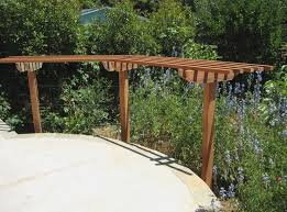 Grape Arbor Designs Elegant Hand Made Grape Arbor by Splinter