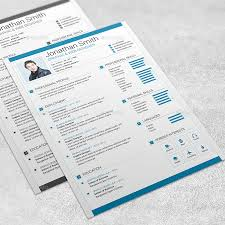 modern resume template 02 by marufstudio graphicriver modern resume template 02