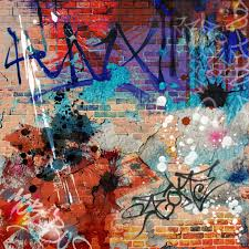 contemporary graffiti expressive street art or vandalism  graffiti
