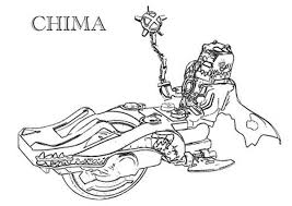 Small Picture Quest for the Legend Beasts in Lego Chima Coloring Pages Batch