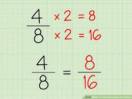image titled find equivalent fractions step 1