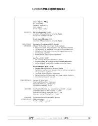 Resume Dance Resume Example