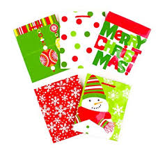 hallmark small gift bags orted festive patterns polka dots ornaments snowflakes