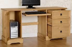 corona mexican pine computer desk