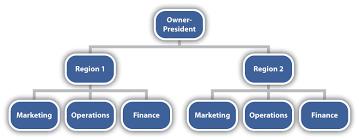 organizational design divisional structure