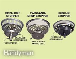 how to replace a kitchen sink basket strainer family handyman