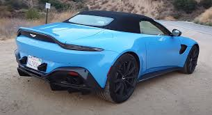 Does The New Aston Martin Vantage Roadster Drive As Great As It Looks Carscoops