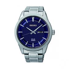 seiko mens basic solar day date watch samuels jewelers seiko mens basic solar day date watch