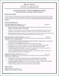 56 Unbelievable Sample Resume For Experienced Sales