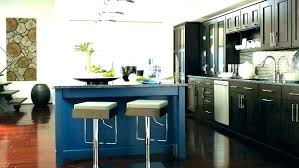 paint kitchen cabinets navy blue distressed gray modern home designs
