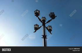 Old Fashioned Street Lights Classic Older Lamp Image Photo Free Trial Bigstock