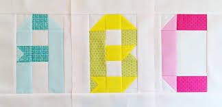 Alphabet quilt blocks ... ribbon letter edition ⋆ Patch + Dot & Alphabet Quilt Block Free Tutorial Adamdwight.com