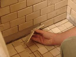 to install tile in a bathroom shower